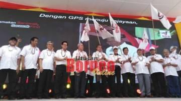 Majlis Pelancaran Gabungan Parti Sarawak (GPS) Zon 15 A, hari ini.