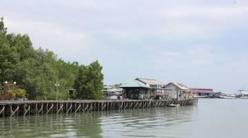 TERKENAL KERANA SUMBER LAUT: Salah satu pemandangan di Tarakan.