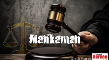 """""""Anuar Mohd Sabir, 57, membuat pengakuan ketika pertuduhan dibacakan di hadapan Timbalan Pendaftar Mahkamah Tinggi Tawau Amir Shah Amir Hassan"""""""