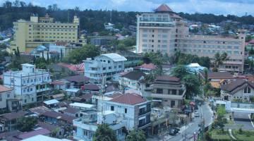 MAJU: Salah satu sisi pemandangan kota Balikpapan.
