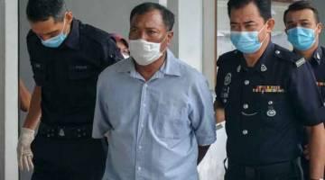 KENYATAAN PALSU: Seorang lelaki warga emas didenda RM2,000 oleh Mahkamah Majistret di Melaka, semalam kerana membuat penyataan dalam aplikasi WhatsApp mengenai COVID-19 dengan niat menyebabkan ketakutan awam, minggu lepas. — Gambar Bernama