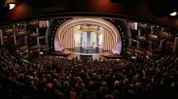 PENUH: Gambar fail yang diambil pada 24 Februari 2008 ini menunjukkan gambaran umum Anugerah Akademi ke-80 yang diadakan di  Kodak Theatre, Hollywood.  — Gambar AFP