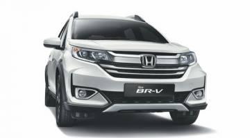LARIS: Model Honda BR-V baharu menerima sebanyak 1, 400 unit tempahan dalam masa sebulan.
