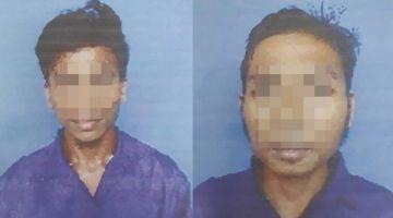 BANDUAN: Kedua-dua banduan yang melarikan diri berjaya ditangkap semula.