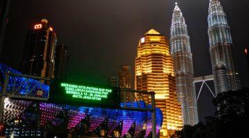 Rakaman gambar suasana jalan rayalengangdi sekitaribukota Kuala Lumpur ketika tinjauan fotoBernama berkenaan PKP pada 20 Januari lalu. - Gambar Bernama