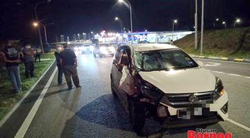 Pejalan kaki maut dilanggar kereta