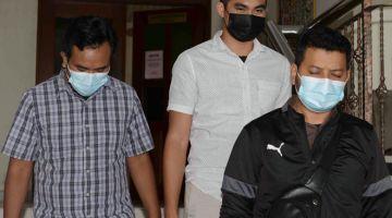 BAHANA RASUAH: Mohd Saiful mengaku tidak bersalah di Mahkamah Sesyen Alor Setar semalam atas tiga pertuduhan meminta dan menerima rasuah pada 2018. — Gambar Bernama