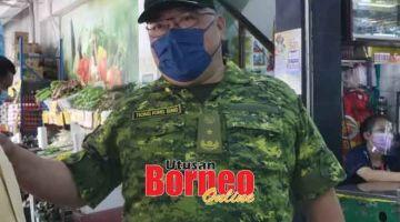 MERESA: Tiong maya operasyen meresa palan bejual enggau opis bekuasa di Bintulu bedau lama udah.