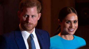 """DOKUMENTARI BAHARU: Putera Harry sekali lagi menekankan keluarganya memandang sebelah mata kepada kesengsaraan yang dihadapi oleh isterinya dalam sebuah siri dokumentari yang baharu ditayangkan, dan menyatakan beliau tidak akan """"berdiam diri apabila dibuli."""" — Gambar AFP"""