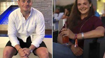 TUNTUT KEADILAN: Gambar fail kombinasi ini menunjukkan Jack Merritt (kiri) dan Saskia Jones yang menjadi mangsa kejadian bunuh di London Bridge pada 29 November 2019. — Gambar AFP