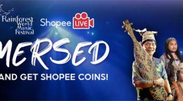 SECARA MAYA: Persembahan RWMF tahun ini akan disiarkan melalui Shopee Live dari jam 6 petang, memberikan akses kepada berjuta-juta rakyat di seluruh negara untuk menikmati festival muzik ini dari keselesaan rumah mereka sendiri.
