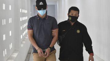 Mohd Ameruddin mengaku tidak bersalah dan mohon dibicarakan di Mahkamah Sesyen hari ini. - Gambar Bernama