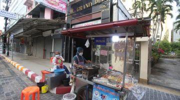 Suasana sunyi dan lenggang di Hatyai, Songkhla, selatan Thailand sejak penutupan sempadan Thailand-Malaysia dalam usaha mengekang penularan COVID-19. -Gambar Bernama