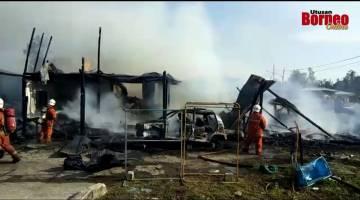 Embedded thumbnail for Kebakaran rumah di Kampung Piasau Utara