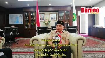 Embedded thumbnail for Wawancara bersama Gubernur Kalimantan Timur, Isran Noor.