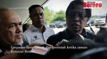 Embedded thumbnail for Kerajaan Sarawak membantah penubuhan MPKK di Sarawak.