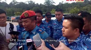 Embedded thumbnail for APM Sarawak sedia hadapi Monsun Timur Laut