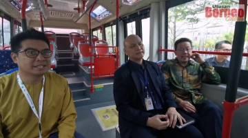 Embedded thumbnail for Bas hidrogen pertama di Asia Tenggara kini di Kuching!