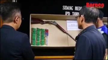 Embedded thumbnail for Kematian gajah: Enam diberkas, lima senjata api, 58 butir peluru dirampas