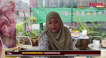 Embedded thumbnail for Kuih tradisional Kelantan, Akok kini boleh didapati di Kuching.