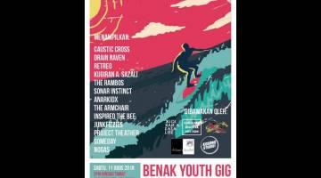 POSTER: Bakal membuat persembahan pada Benak Youth GIG, Pesta Benak Sri Aman 2018.
