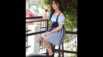 ARTIS BAHARU: Penyanyi Iban berbangsa Cina, Roxanne bakal tampil dengan sebuah lagu berjudul 'Sanggup Nganti'.