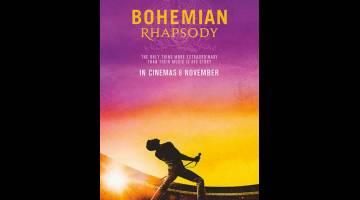 TURUT TERCALON: 'Bohemian Rhapsody', sebuah muzikal British-Amerika tentang kumpulan rock Queen, turut dicalonkan.