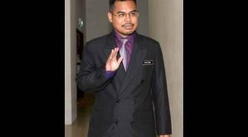 BERI KETERANGAN: Ahmad Hafizam yang merupakan saksi ke-24 hadir pada prosiding inkues bagi menentukan punca kematian Allahyarham Muhammad Adib Mohd Kassim di Mahkamah Koroner Kompleks Mahkamah Shah Alam dekat Shah Alam, semalam. — Gambar Bernama