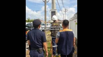 MAHIR: Pemeriksaan di kediaman peribadi di Jalan Acorus, Miri.