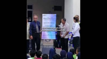 BERMULA: Program Sekolahku Tercinta dirasmikan di SK Pasir Pandak.