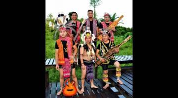 TEMUI KAMI: Etnik Revolution akan melancarkan muzik video 'Cai Cer Ruai' di Sibu pada 24 Mei.