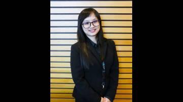 TAHNIAH: Pegawai Penyelidik BCCK, Priscilla Wong yang dianugerahkan Penyelidik Terbaik ICCA Tahun 2019.