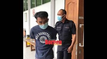 MENGAKU SALAH: Zaimezal dijatuhkan hukuman penjara tujuh tahun.