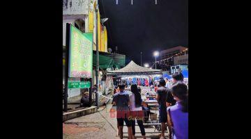 DIBUKA SARU: Pengudah ke ditutup kenyau ari 16 Januari, Pasar Malam Sibu deka dibuka baru kena Hari Lima tu.