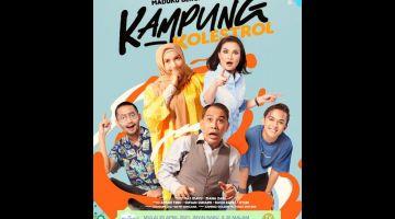 Poster 'Kampung Kolestrol'.
