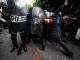 GANAS: Penunjuk perasaan bertembung dengan polis antirusuhan semasa rusuhan mendesak Presiden Guatemala, Alejandro Giammattei meletak jawatan di Guatemala City. — Gambar AFP